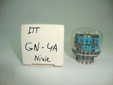 NIXIE GN-4A TUBE. ITT BRAND TUBE. NOS TUBE. RC82.