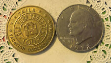 Commerative large/dollar size /heavy medal/Token /Heads or Tails #152