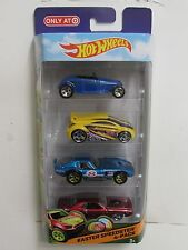 HOT WHEELS 2014 EASTER SPEEDSTER 4-PACK SHELBY PLYMOUTH