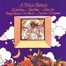Motown Christmas CD Stevie Wonder Marvin Gaye Temptations Diana Ross & Supremes
