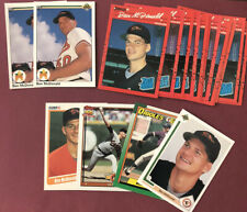 1990 Upper Deck Ben McDonald Rookie Card #54 ~ Baltimore Orioles Lot of 18 Cards