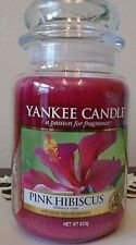 Yankee Candle  22 oz  .Pink Hibiscus  NEW 1 Single candle. FREE SHIPPING