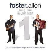 Foster and Allen - Sing the Number 1's 40 Top Hits Songs FREE UK P&P NEW SEALED