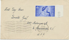 2414 1948 Royal Silver Wedding 2 1/2 d on rare superb plain FDC STOKE NEWINGTON