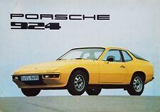Porsche 924 Launch Brochure - 1976   English German French Italian
