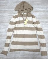 Da-Nang Surplus Women's Sweater Hooded Drawstring COTTON BEIOF STC2193BS SMALL S