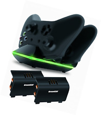 Xbox One Remote Dual Charging Dock Station Accessories Gear Rechargeable Battery