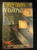 Ringworld by Larry Niven 1977 HCDJ First Edition/1st Printing