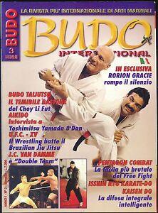 ARTI MARZIALI BUDO INTERNATIONAL ANNO I N.3 1997 WRESTLING - VAN DAMME