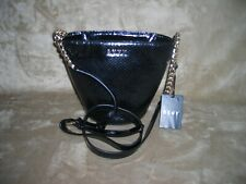 DKNY Chain Bucket Black Bag