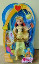 "2005 Winx Club STELLA Doll yellow blonde shoes purse 9"" brush phone UNOPENED"