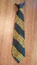 Men's Vintage Culton By Cutter Cravat Original Clip On Neck Tie NDSU John Deere