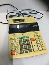 CITIZEN CX-126 II ELECTRONIC CALCULATOR - CALCOLATRICE FUNZIONANTE VINTAGE