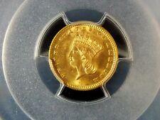 1889 $1 Gold Dollar Indian Princess Type 3 PCGS MS64   ECC&C, Inc.