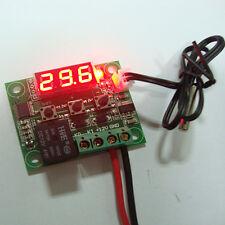 DC 12V -50-110°C Heat Cool Thermostat Digital Temperature Control Switch+Sensor