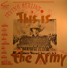 """Est-This is the army-Irving Berlin's 12"""" LP (t544)"""