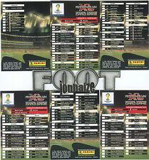 UPDATE Full  Set 1st & 2nd - 136 cards - ADRENALYN  XL World Cup 2014 Brasil