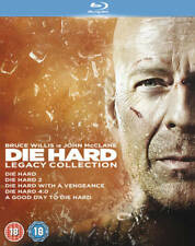 Die Hard: 1-5 Legacy Collection DVD (2013) Bruce Willis ***NEW***