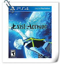 PS4 Exist Archive: The Other Side of the Sky JAP / ENG SONY Aksys RPG Games