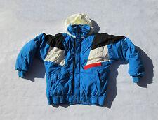 Obermeyer Ski Jacket Coat Blue With Hood Snow Men's Medium