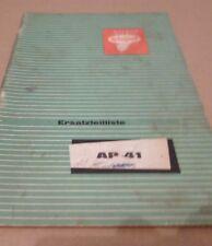 Welger empacadora ap41 repuestos lista
