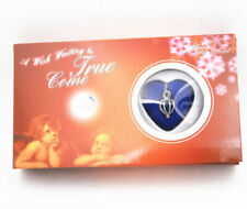 Wife girlfriend Fiance Xmas Gift Wish Pearl Kit Birthday Necklace Boxed LOVE Set