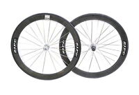 Zipp 440 Speed Weaponry Road Bike Wheelset Carbon Fiber 10 Speed 700c Tubular QR