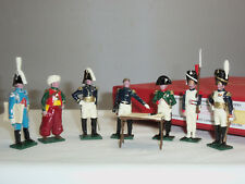 TRADITION 746 NAPOLEON BONAPARTES HEADQUARTERS + GENERALS TOY SOLDIER FIGURE SET