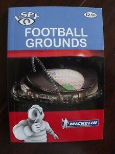 Michelin I-Spy Football Grounds Book P/Back