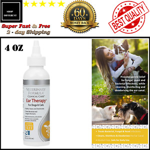 Cat Dog Ear Drops Infection Antibiotic Treatment Medicine Yeast Fungus Itching