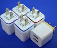 5X USB Dual Wall Fast Charger Adapter 5V 1A 2A For Android / Galaxy / iPhone