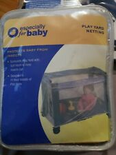 New - Especially for Baby Play Yard Netting Protects Baby From Insects