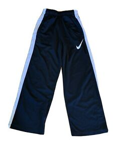 Nike Pants Dri-Fit Athletic Black & White Boys Size Large Drawstring Nwot