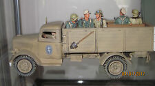King & Country German Opel Blitz Truck + 5 extra figures