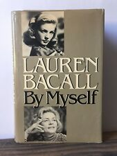 Lauren Bacall by Myself by Lauren Bacall (1978, Hardcover)