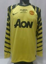 Van Der Sar 1 Manchester United Champion League Final 2011 shirt GK goalkeeper