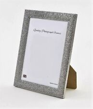Glittery/Sparkly Finish GUNMETAL/SILVER Photo/Picture Frame - Various sizes