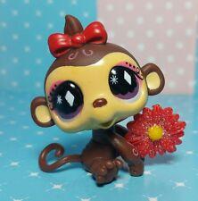 Littlest Pet Shop Baby Affe Shimpanse Monkey Rare & Accessoires
