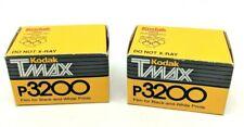 Lot of 2 Rolls KODAK TMax P3200 Black White Film TMZ 135-36 Expired Vintage