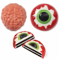 Brain and Eye Chocolate Cookie Candy Mold from Wilton #0223 - NEW