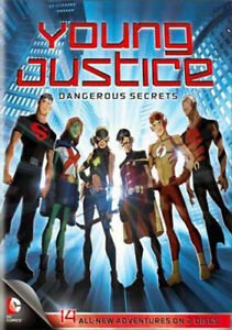 Young Justice: Dangerous Secrets: Season 1 Part 2 (2 Disc) DVD NEW