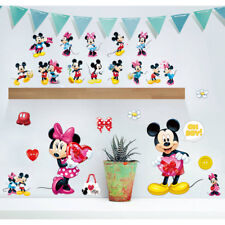 Cartoon Mickey Minnie Mouse With Heart Baby Home Decals Wall Stickers For Kids