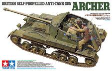 NUOVO! TAMIYA 35356 BRITISH ANTI TANK GUN Archer-a Trazione autonoma KIT MODELLO 1:35