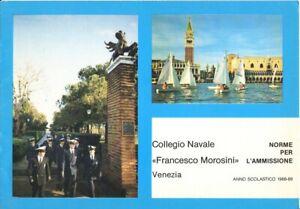 Marina Militare-Leggi Corsi Collegio Navale-Francesco Morosini-Venezia-1988-89