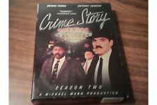 CRIME STORY Season Two Collector Edition  NEW DVD FREE Post mmoetwil@hotmail.com