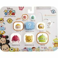 New 9 pcs Disney Tsum Tsum Series 2 Figures Stack + Mystery Characters Pooh Olaf