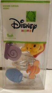 Disney Home Winnie the Pooh Butterfly Shower Curtain Hook Set