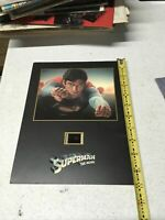 Rare Superman - Special Edition Deluxe Set Senitype Poster
