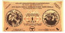 Germany Ostland Lithuania -1 Punkt 1943/44