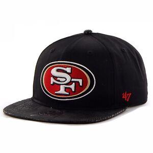 San Francisco 49ers '47 Brand Chuckwalla Captain SnapBack Adjustable Cap Hat $32